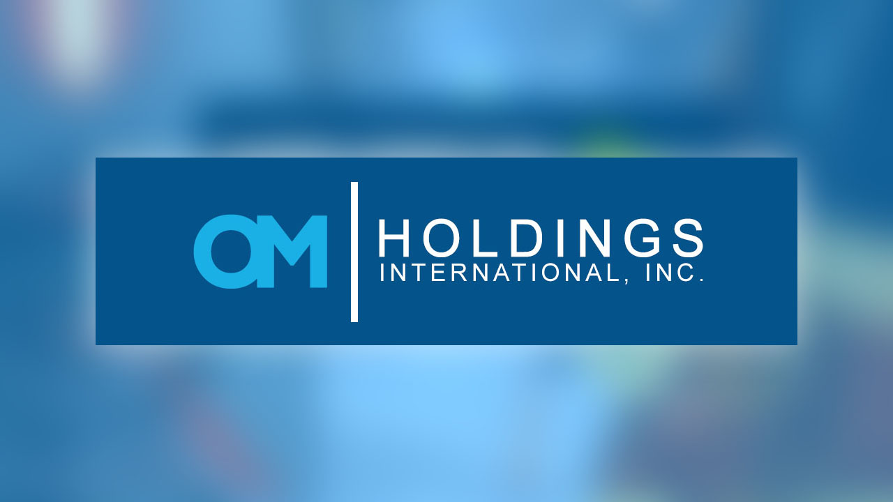 OM Holdings Company Profile Banner